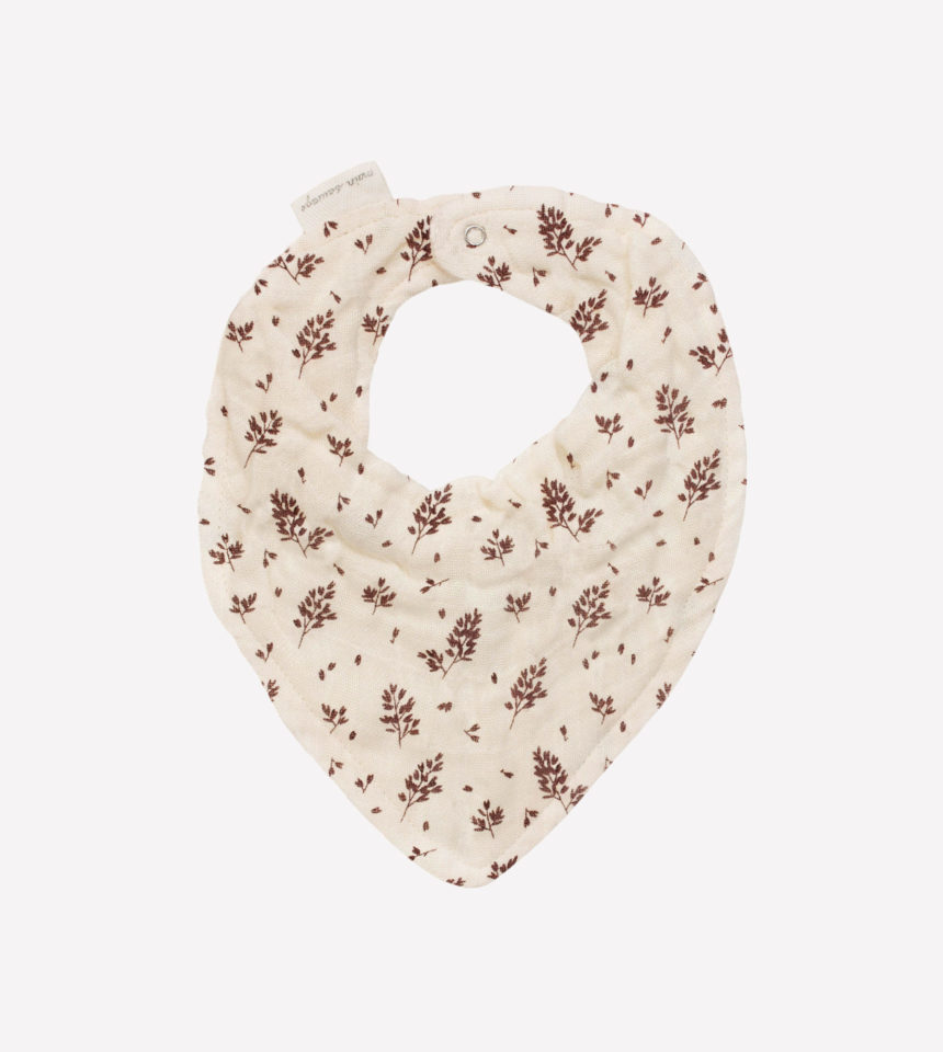 Bavoir foulard meadow Main Sauvage